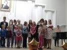 Награждение номинаций Эстрадный вокал, ДПИ, Художественное слово