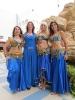 Исполнительницы восточных танцев Школы танцев Сантарана
